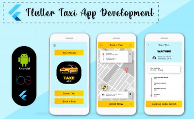 Taxi App in Flutter